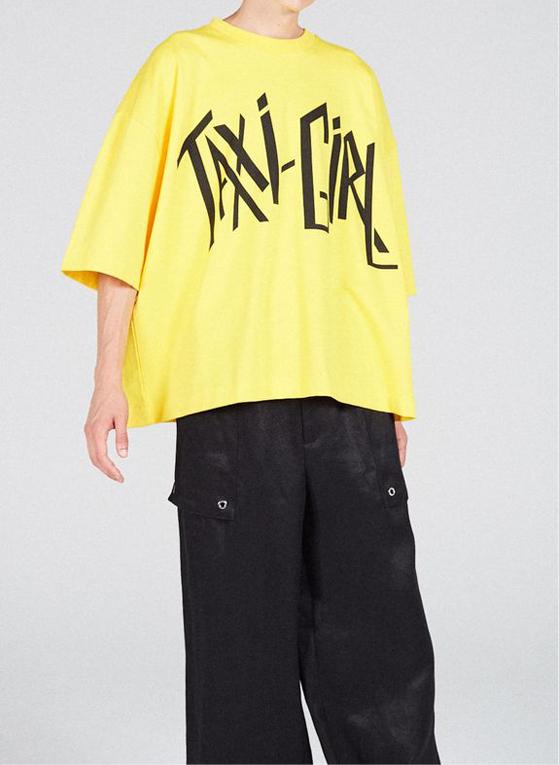 T-shirt Desert Taxi Girl