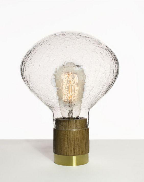 Lampe de table Bulle