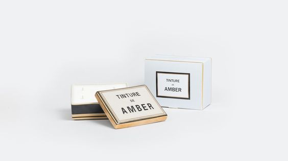 Bougie céramique Amber
