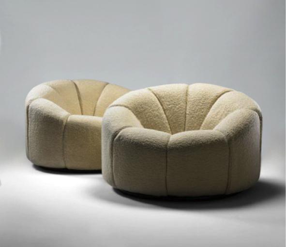 Paire de fauteuils Élysée