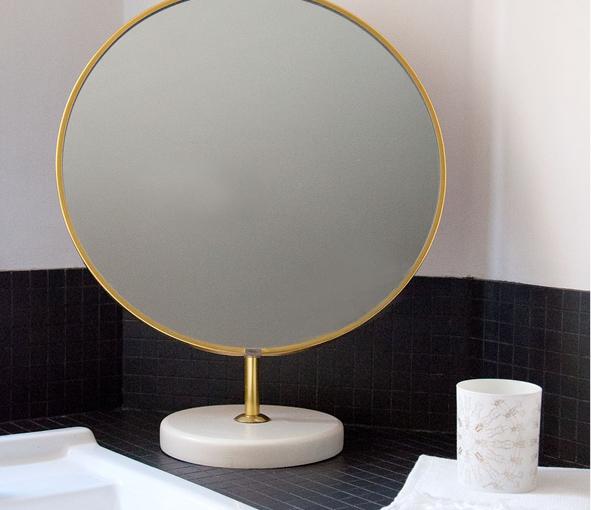Miroir sur pied « Blanche »