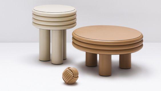 Tabouret et table Scala
