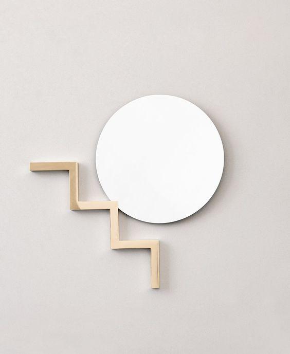 Stair Mirror