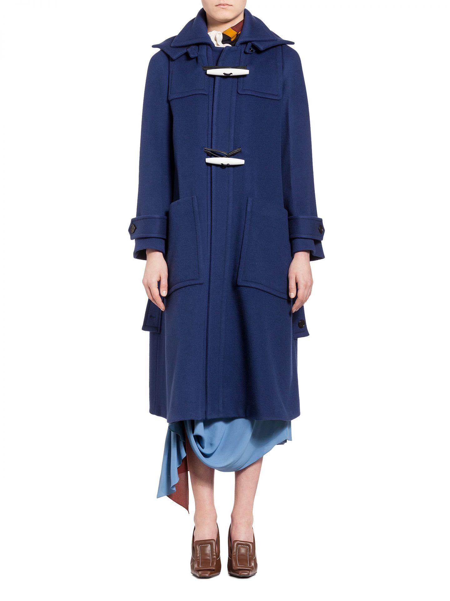 Manteau en double drap de laine
