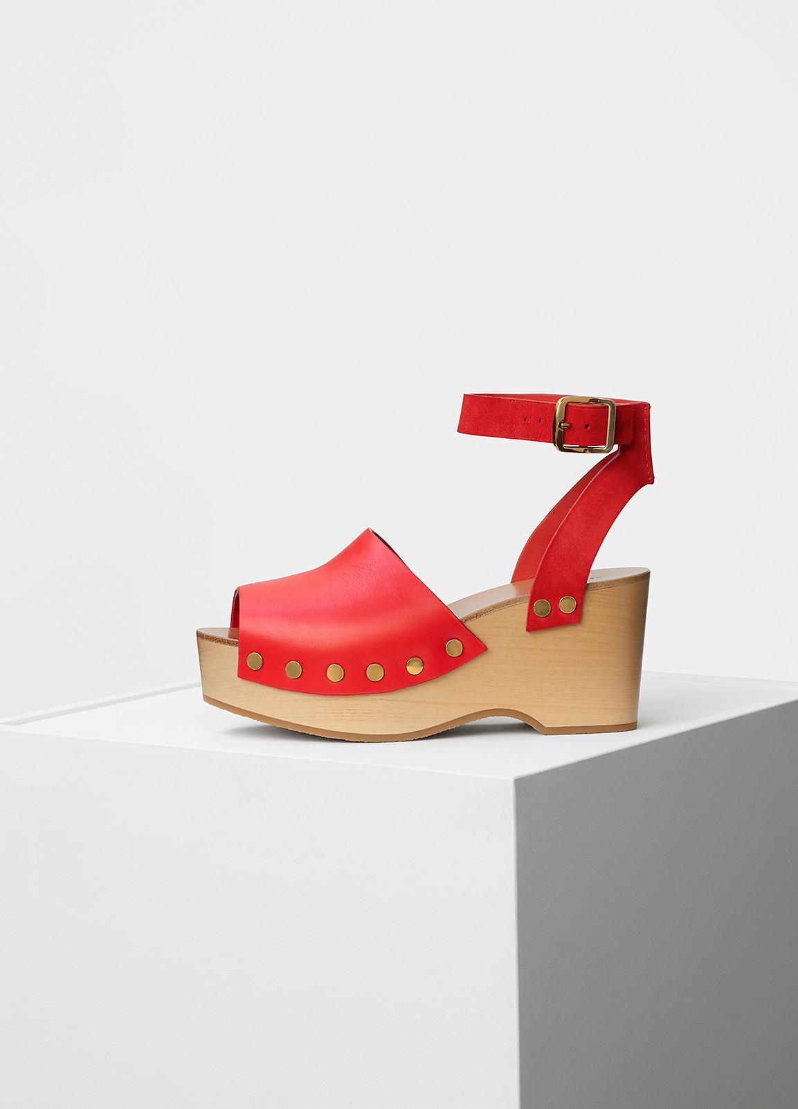 Sandale studded clog