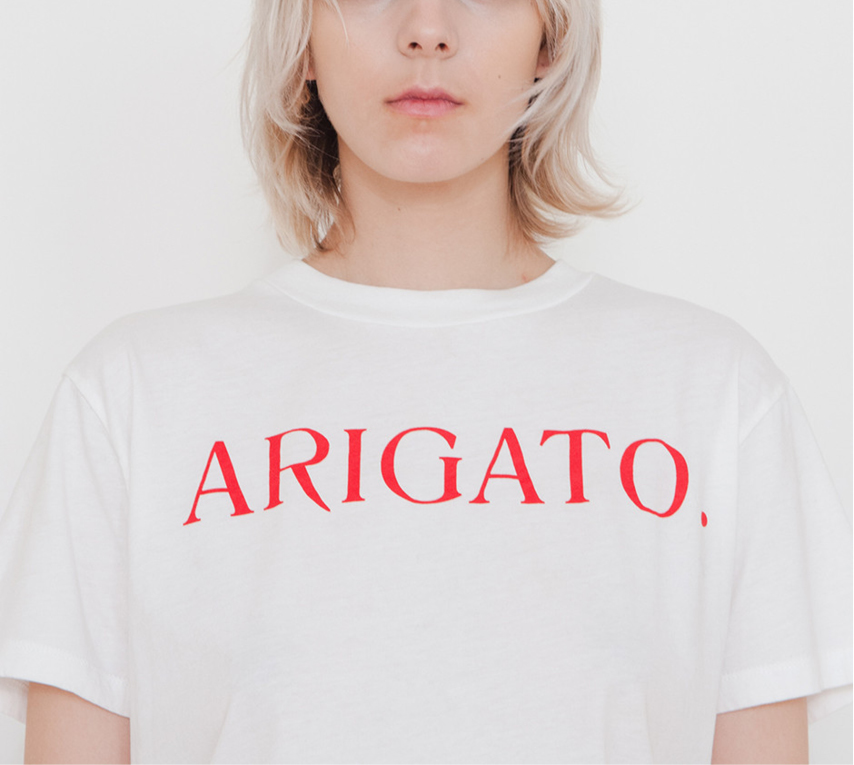 T-shirt Arigato