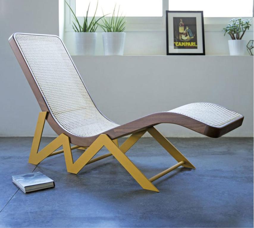 Chaise longue Rakwe