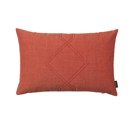 Coussin Velours Diamon ambre