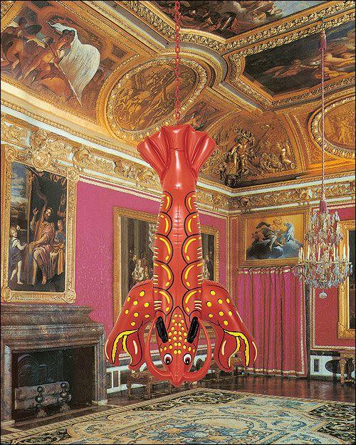 Livre Jeff Koons Versailles