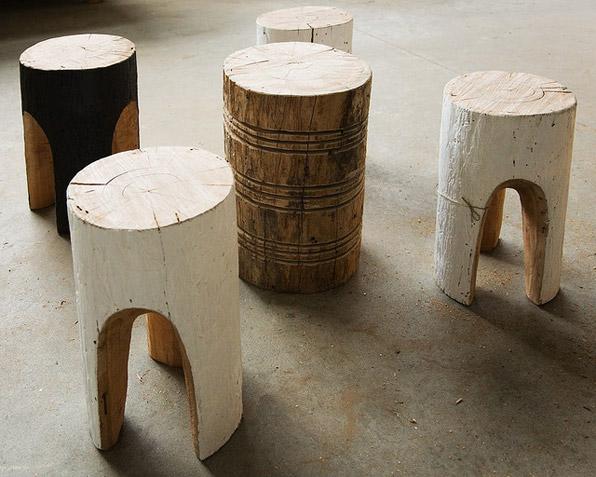 Stump stools