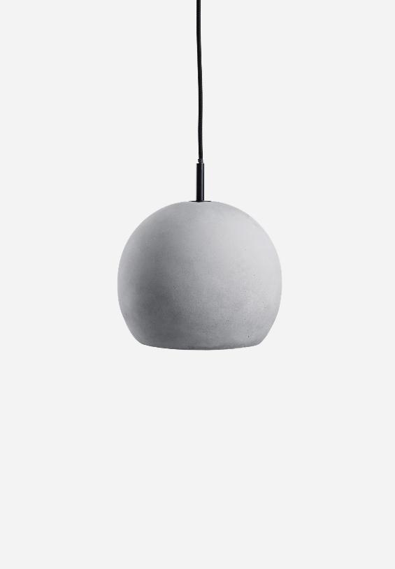 Suspension ball concrete