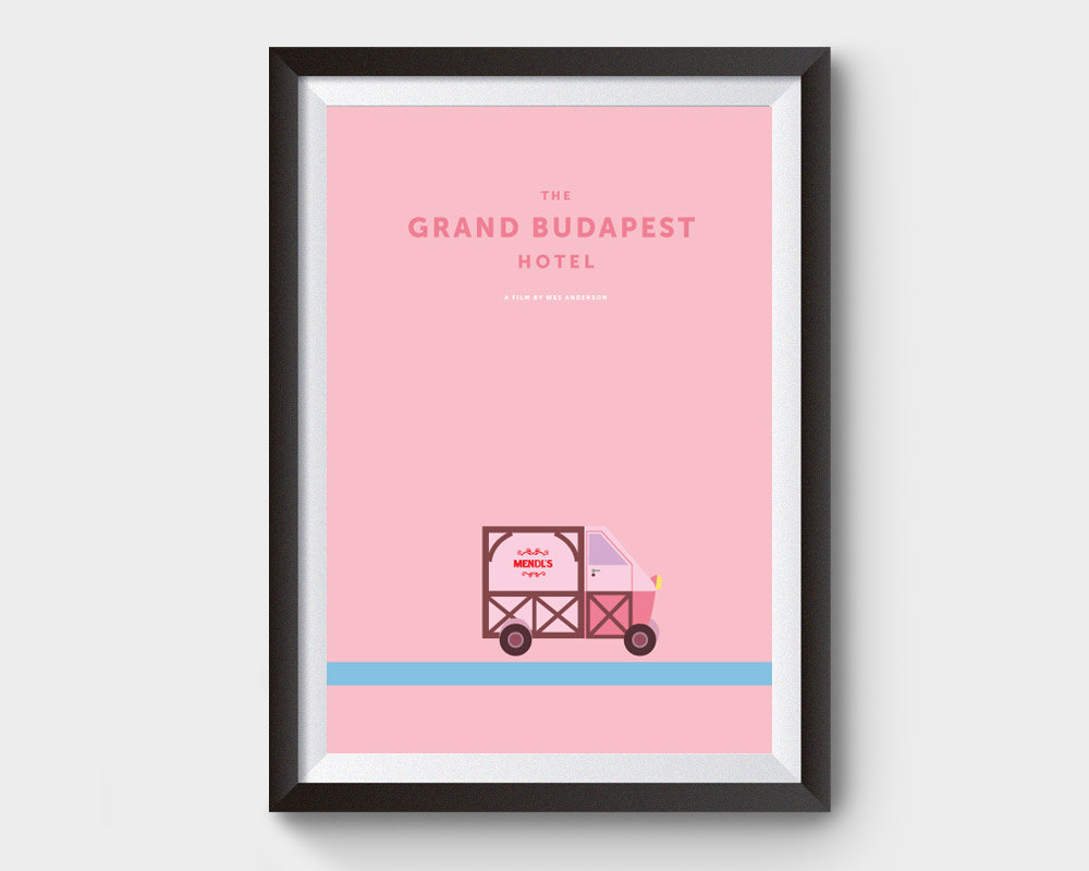 Affiche  Grand budapest Hotel
