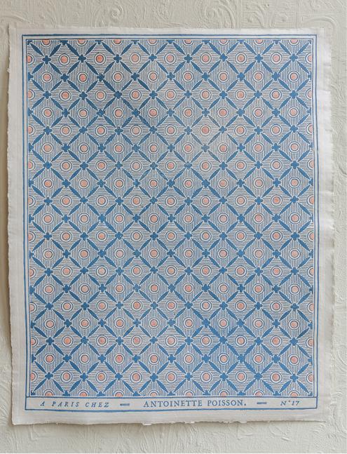 Papier Dominoté D17a