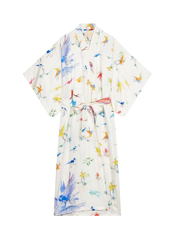 Kimono Flying Birds