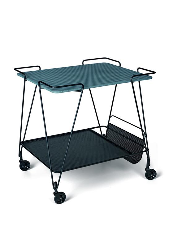 Table roulante Matégot