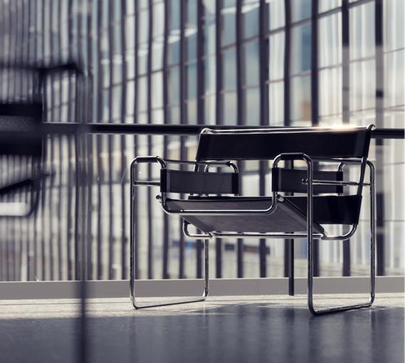 Paire de fauteuils Wassily Gavina
