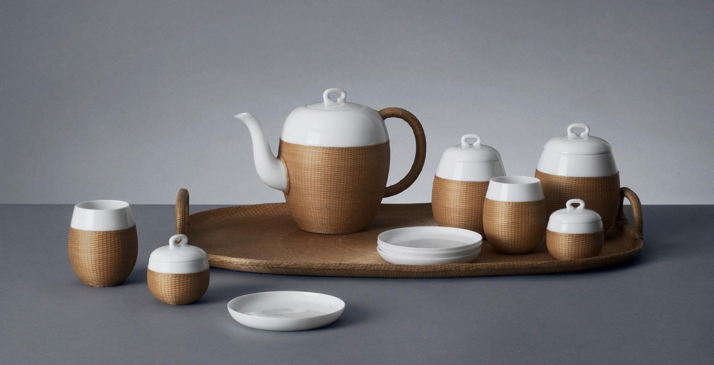 Service à thé Qiao