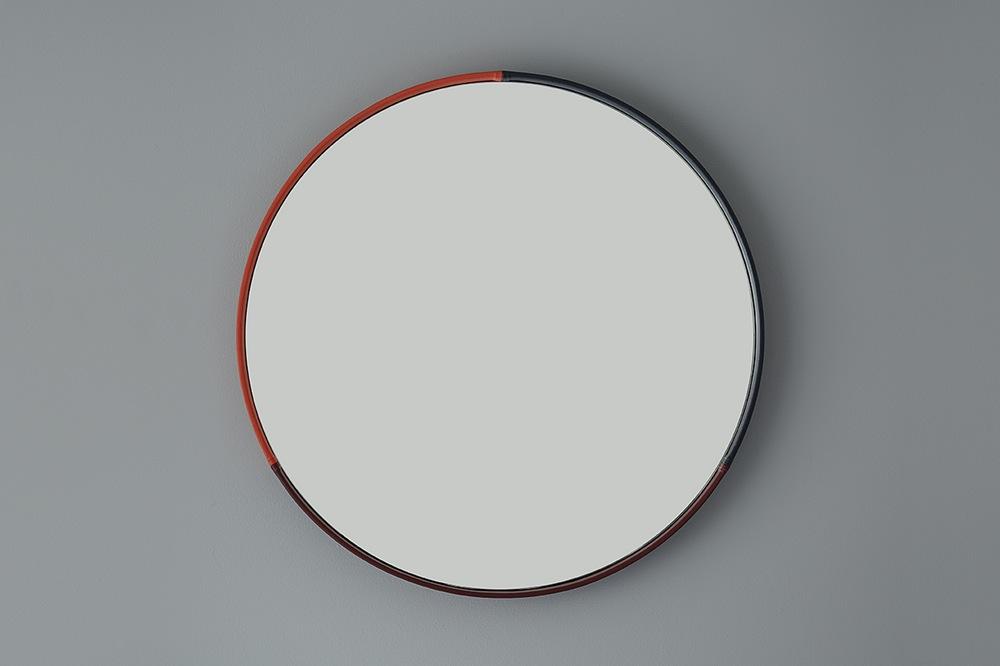 Three-Colour Round Mirror