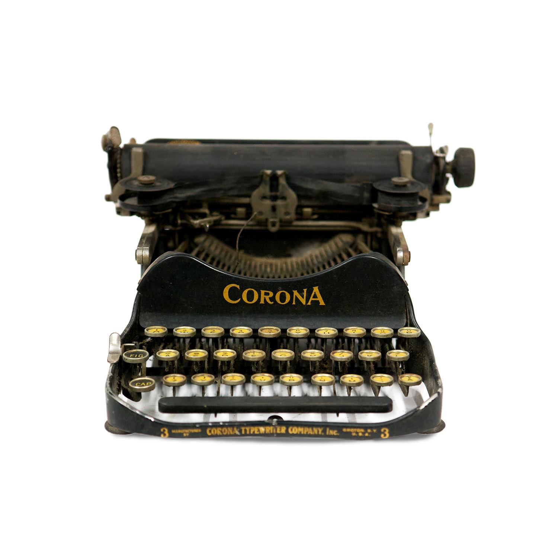 Machine à écrire Corona n°3