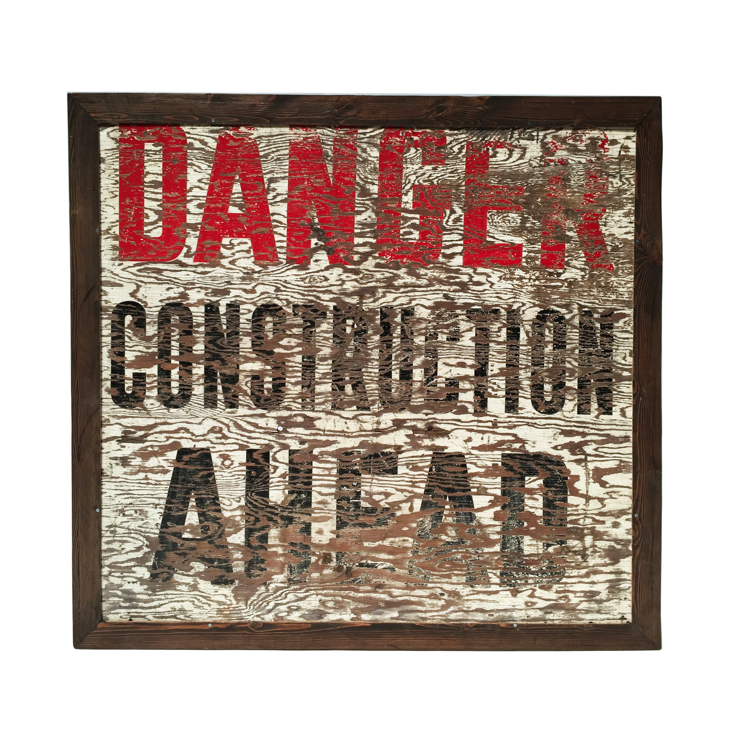 Tableau Danger sign