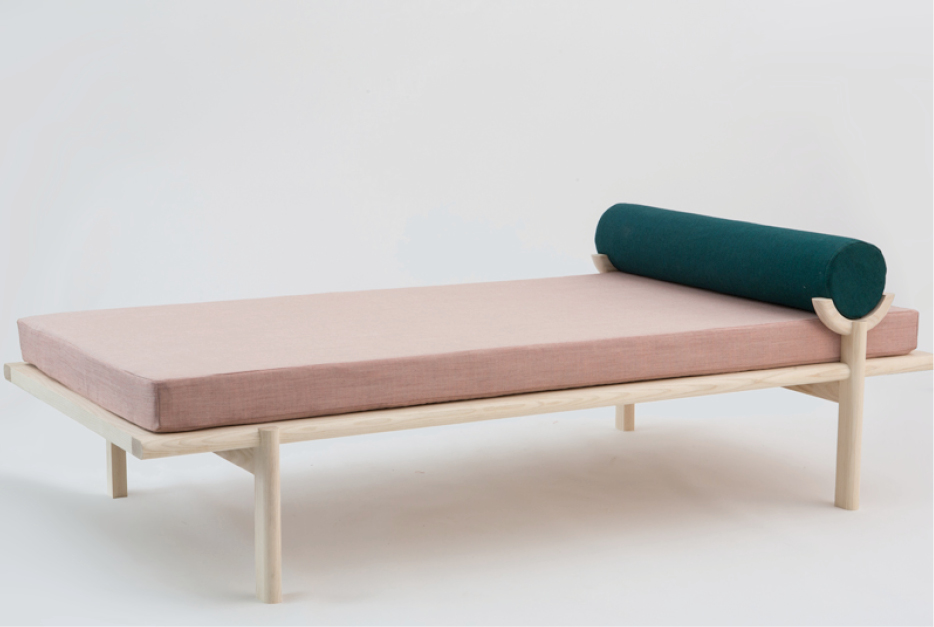 Chaise lounge CRESCENT