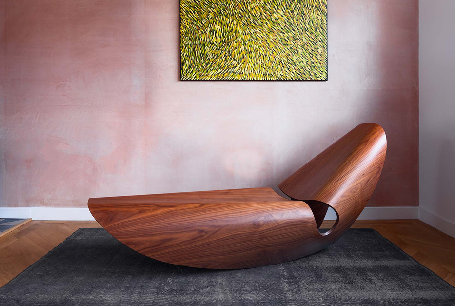 Fauteuil lounge Cowrie