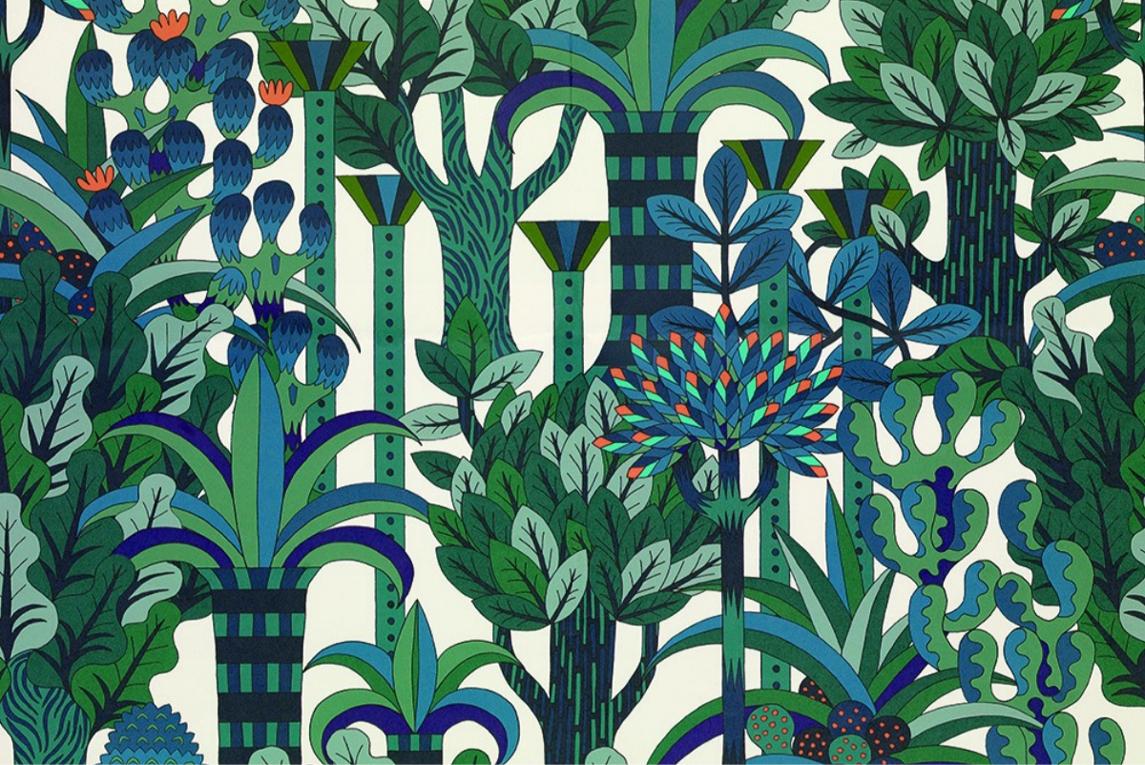 Papier peint Jardin d'Osier