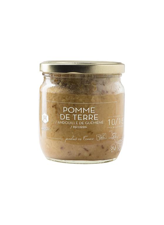 Pomme de terre / beurre / andouille de guémené