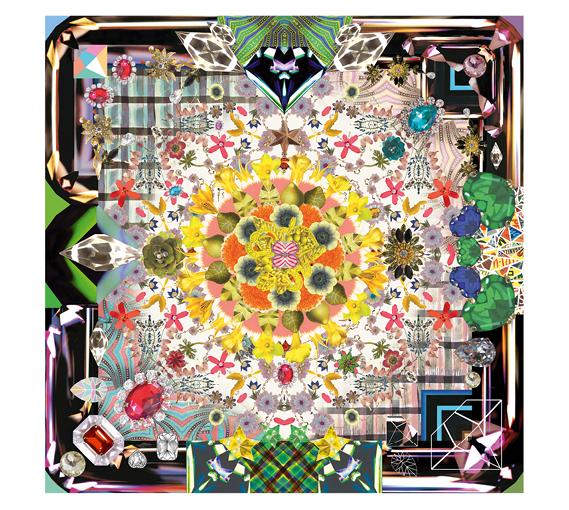 Tapis Jewels Garden