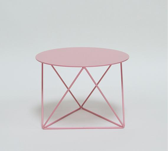 Table Octahedron Pedestal