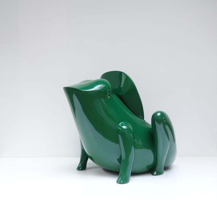 Fauteuil modèle « Crapaud »