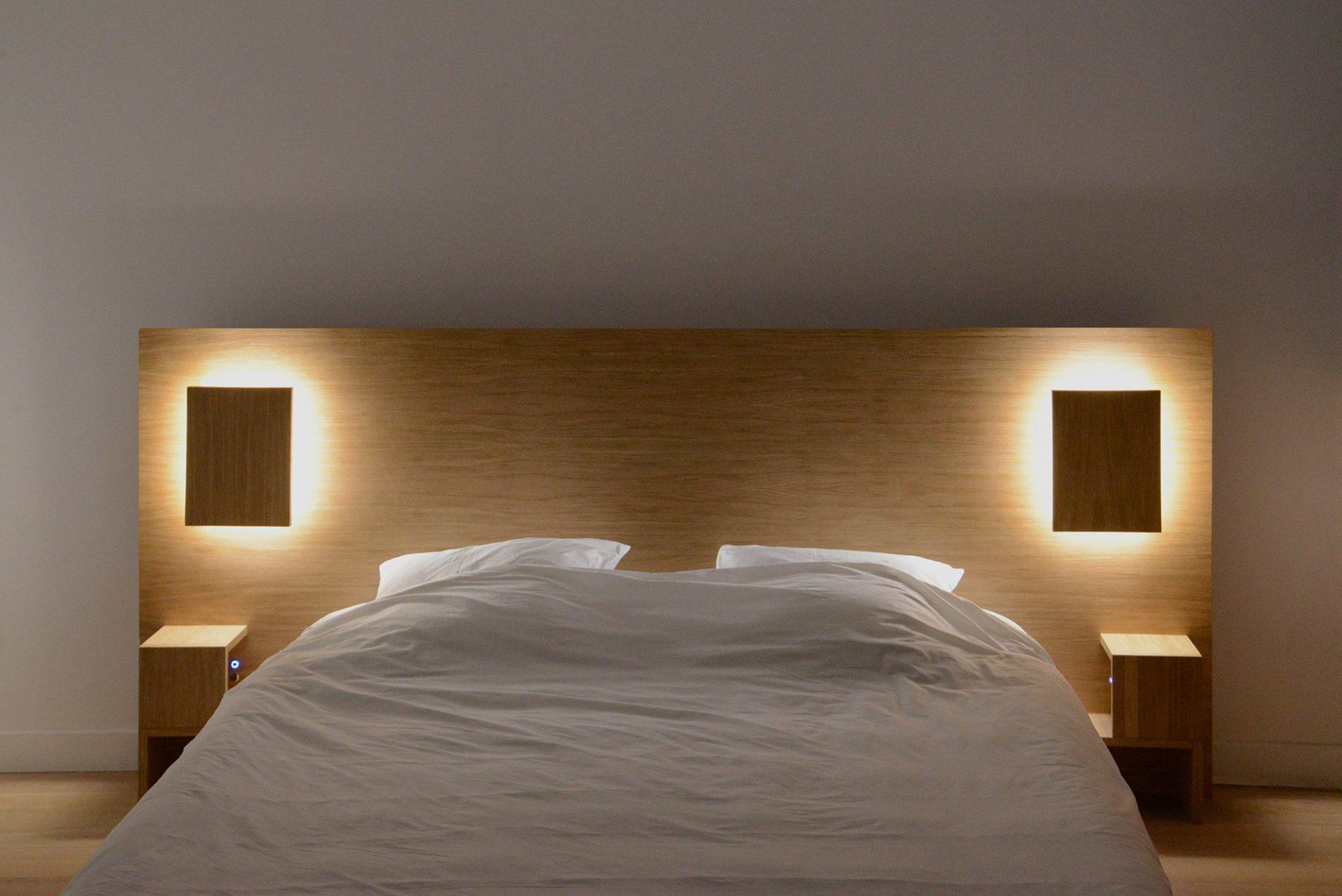 Tête de lit connectée