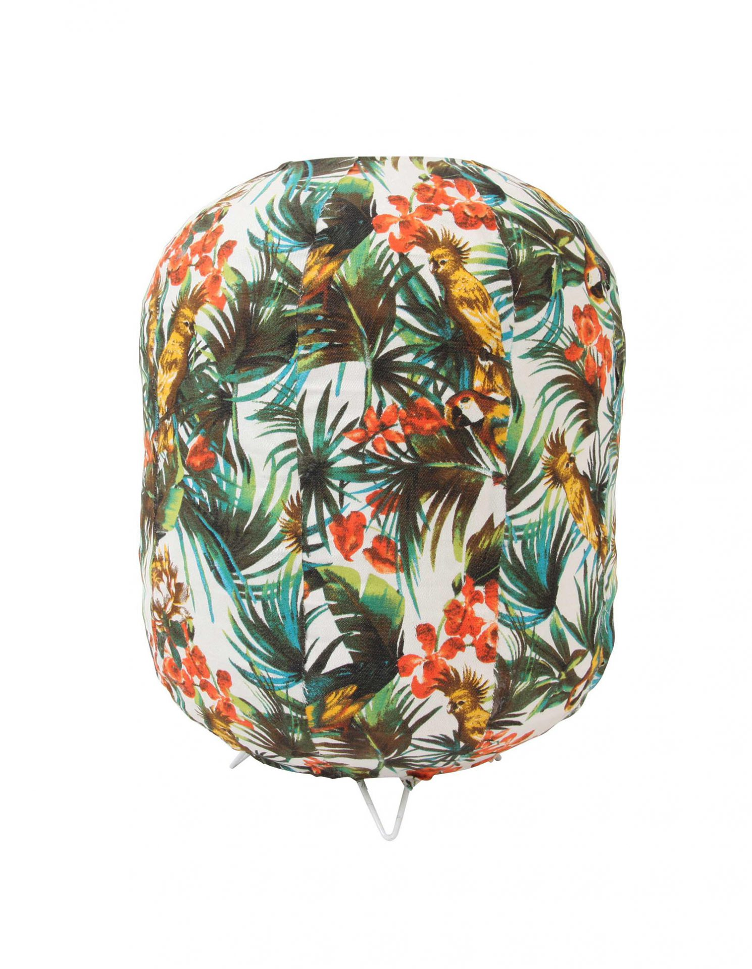 Lampe de table tropicale