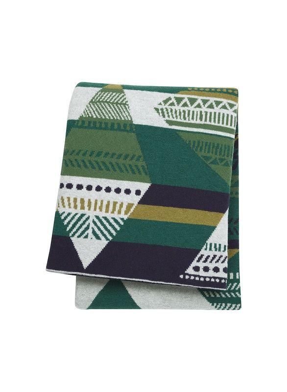Couverture tricotée Kota