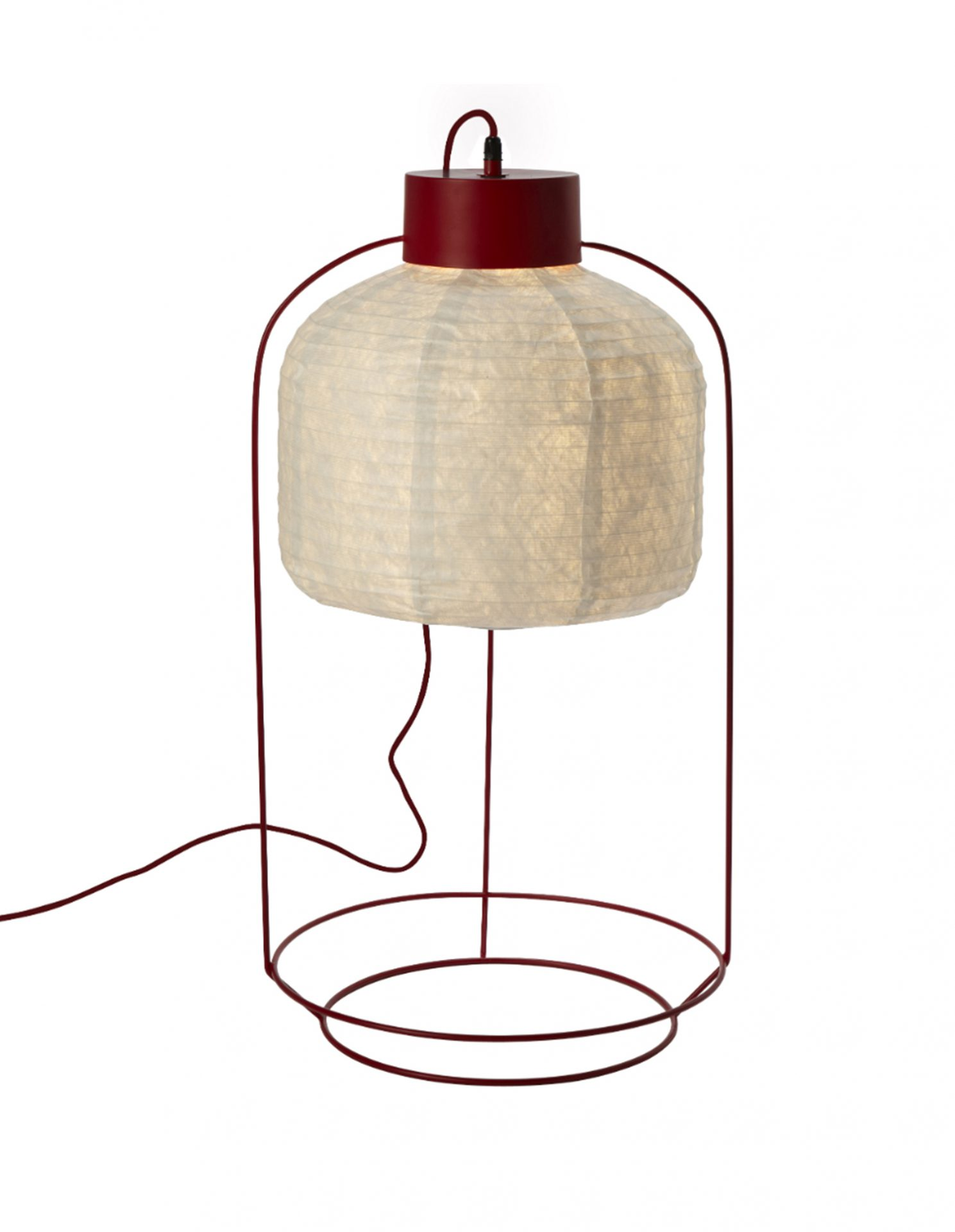 Lampe Rouge CAGE