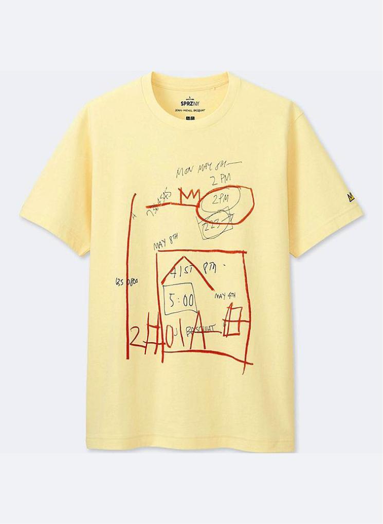 T-shirt SPRZ NY Jean-Michel Basquiat