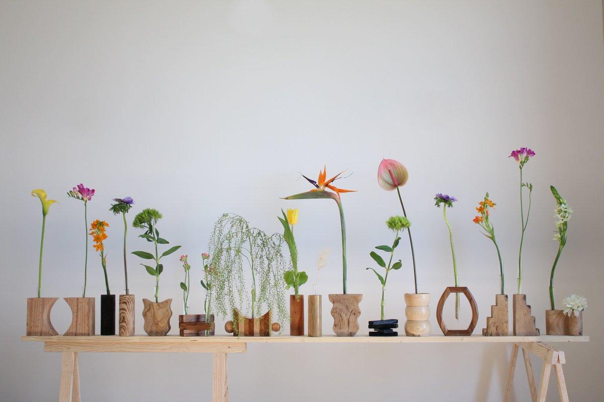 Collection de vases Soliflores