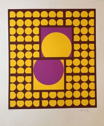 Print Yellow-purple, 1984