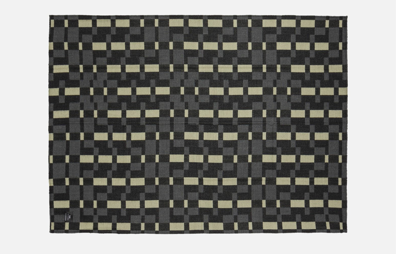Plaid Square Throw by Arthur Arbesser