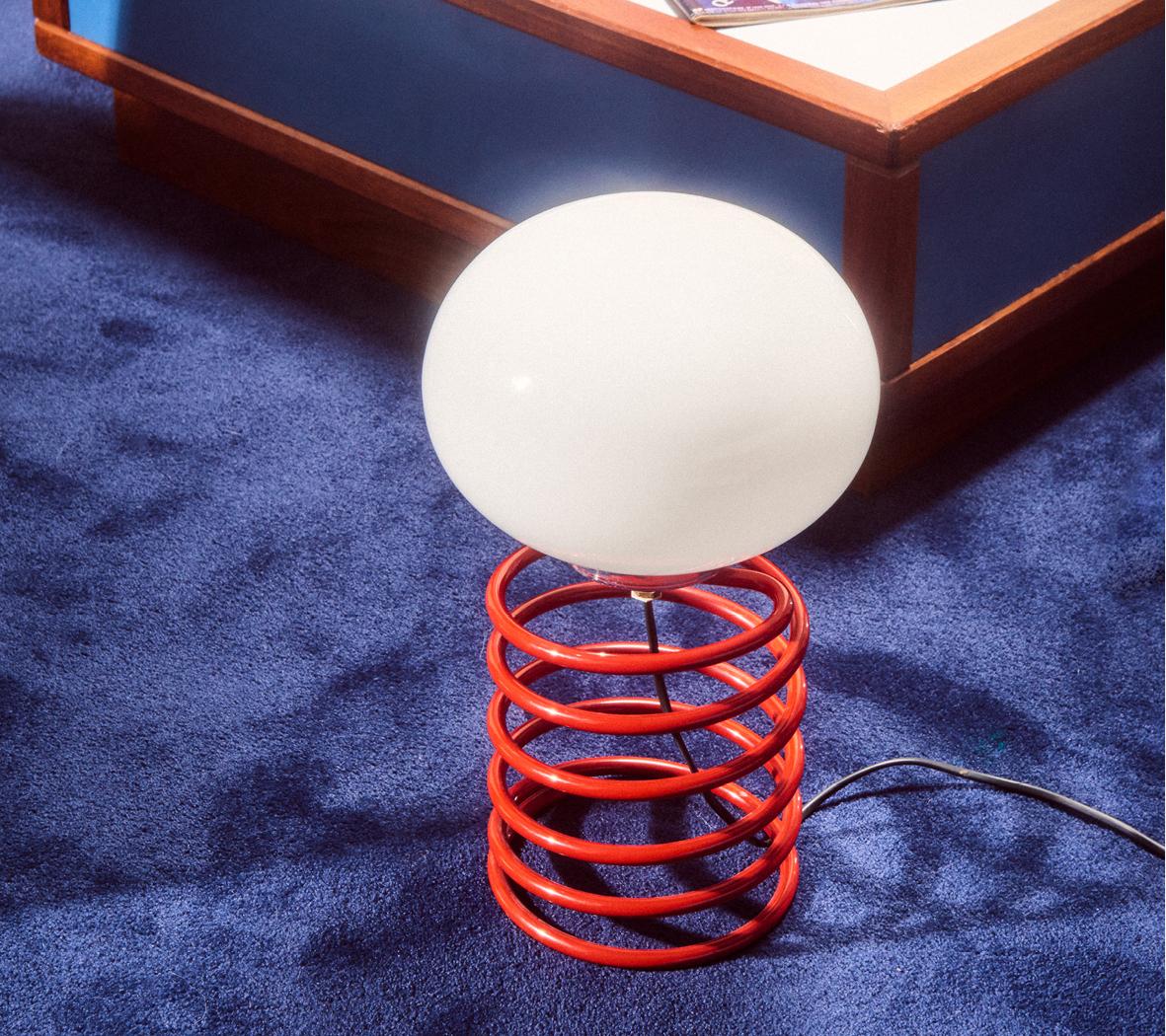 Lampe de table « Ressort » Ingo Maurer