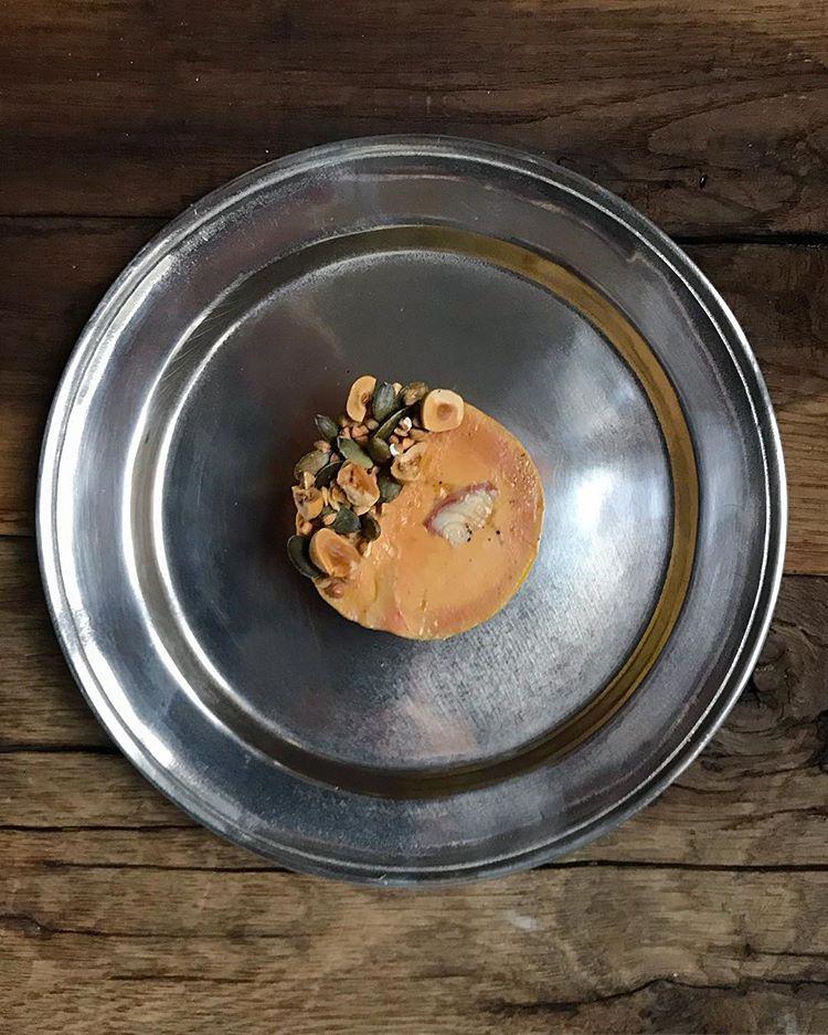 Foie gras à l'anguille fumée