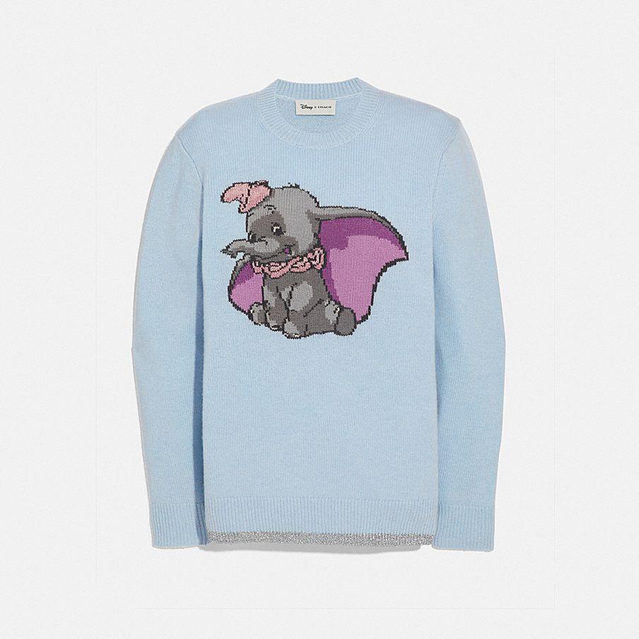 Pull Intarsia Dumbo