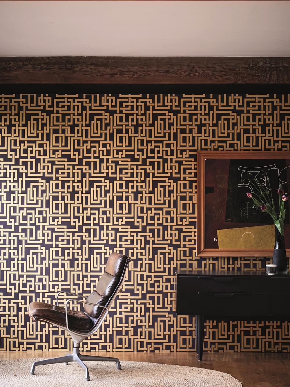Le Papier Peint Est Il Recyclable metallic wallpapers : papiers peint métalliques de la marque