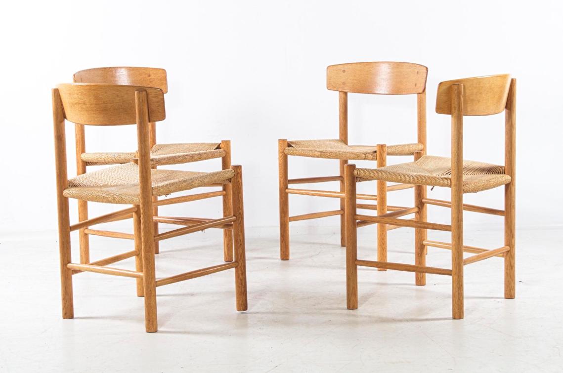 Set de 4 chaises Shaker - Børge Mogensen