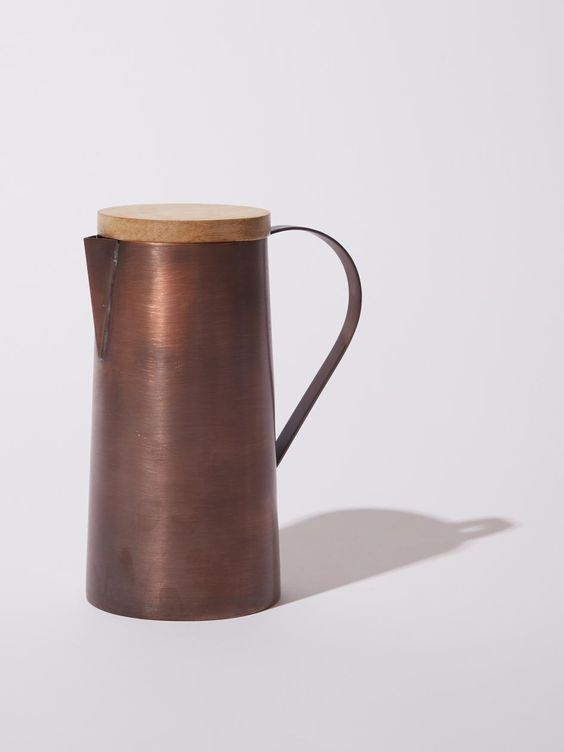 Pichet Mangal en cuivre