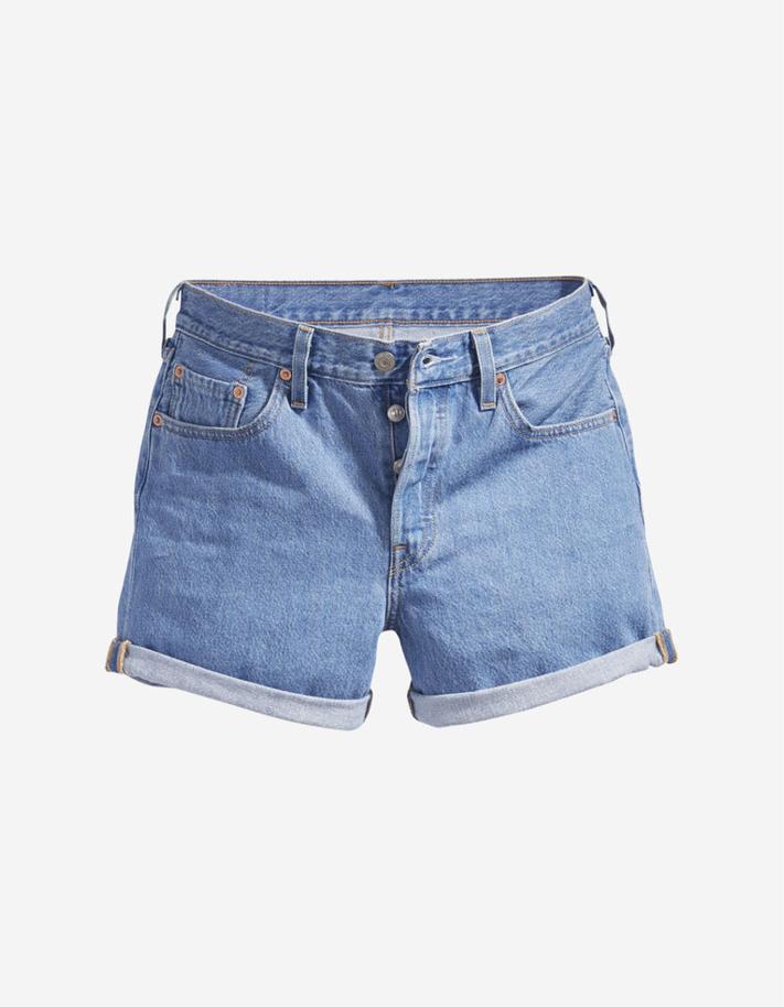 Short en jean 501 taille haute