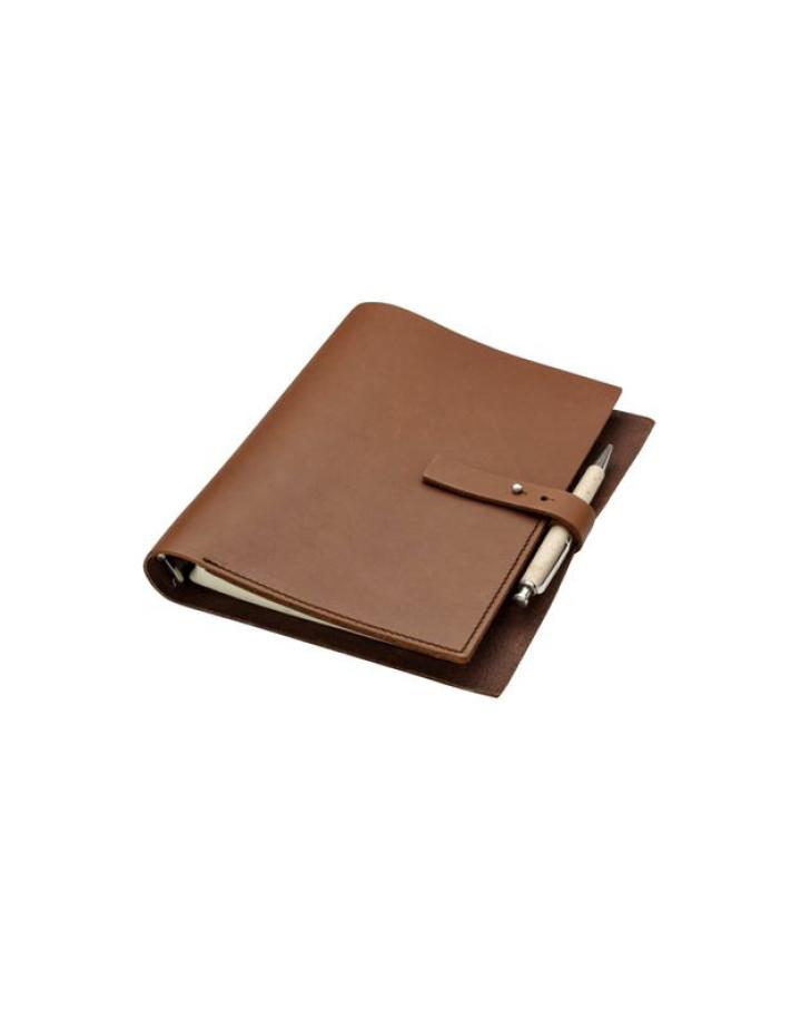 Carnet de notes en cuir
