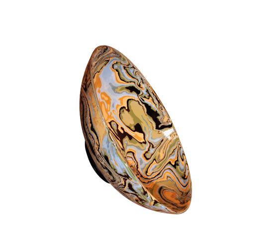 Plat oval en céramique