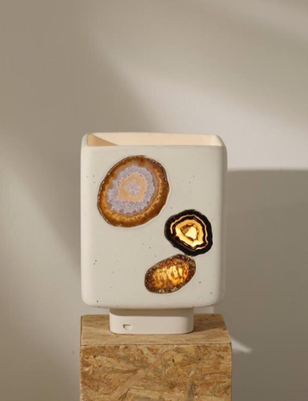 Lampe à minéraux