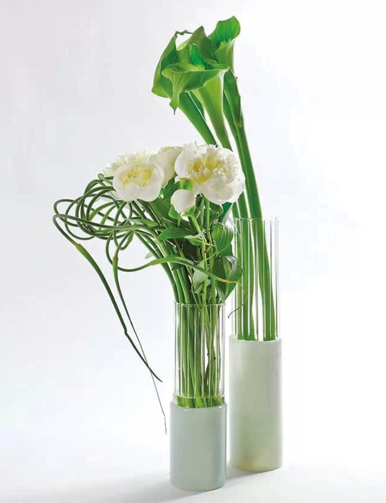 Vase Lines en verre